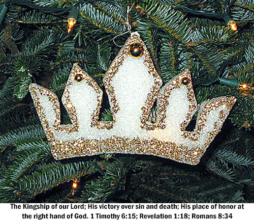 Chrismon Crown - The Kingship of our Lord