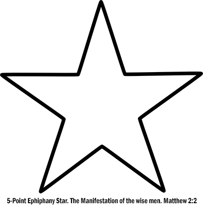 5-point Ephiphany Star