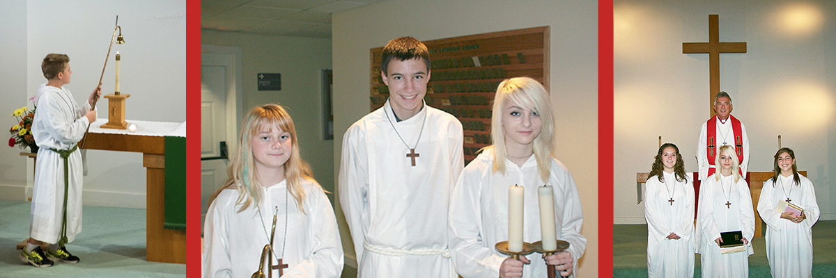 Acolytes and Confirmation